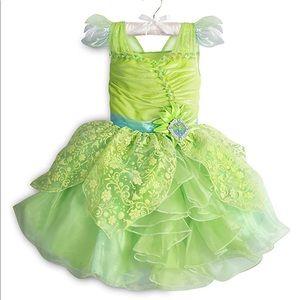 Licensed Disney Tinker Belle Costume Deluxe (NWOT)